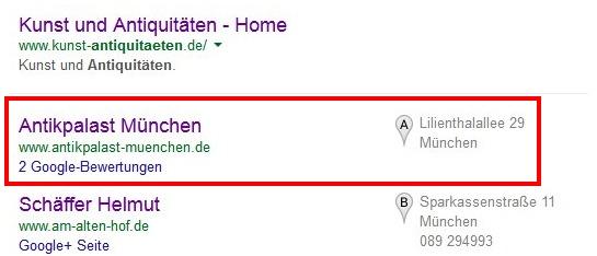 Suchergebniss für Antiquitäten München