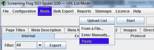 Nicht leicht zu finden: URLs einfügen per Copy & Paste