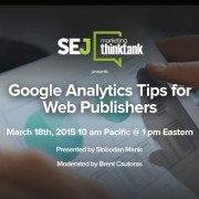 Google Analytics Tips for Web Publishers