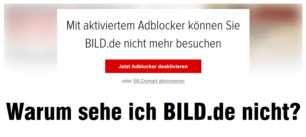 Bild block Adblock